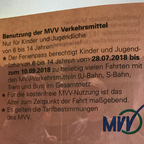 Kann man mit diesem Fahrschein auch den MVG Bus benutzen?