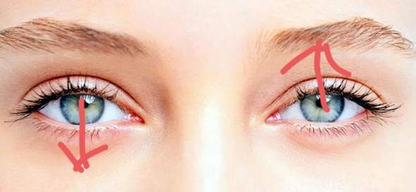 Kann man mit einem Auge nach oben und dem Anderen nach unten sehen?