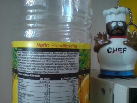 Netto Pfandflasche - (Getränke, Flasche, Discounter)