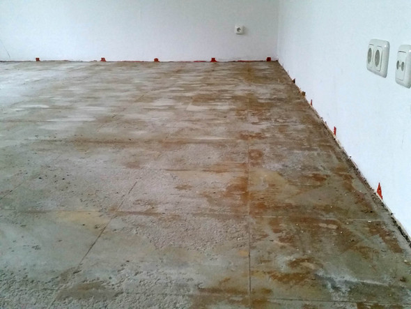 Boden, wie es jetzt ist - (Wohnung, heimwerken, Boden)