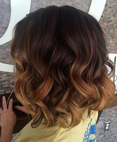 Lange Haare Oben Dunkel Unten Hell Modische Lange Frisuren