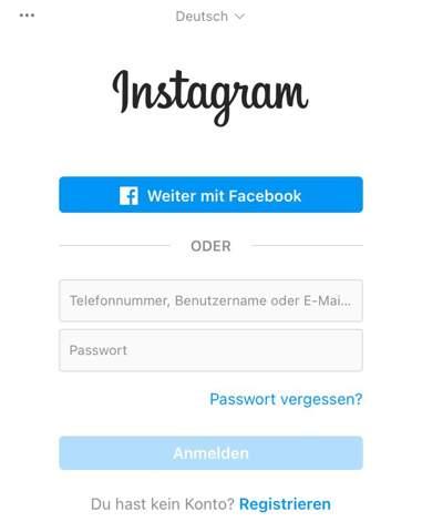 Kann man sich noch ohne eigenes Instagram Profil Instagram Profile angucken?