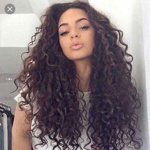 Kann man sich solche haare beim Friseur machen lassen (DauerCurly ...