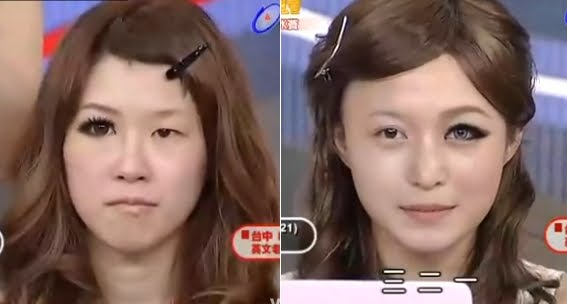 Kann man sich wirklich so schminken o o 39 beauty china for Schlupflieder schminken