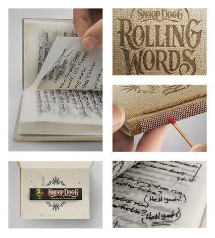 Das ist das Buch. - (Musik, Buch, rauchen)