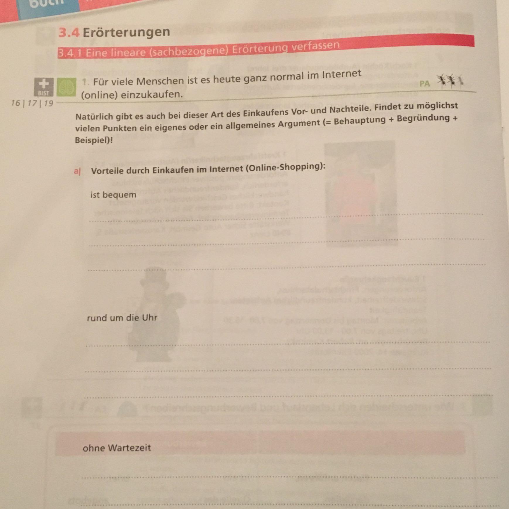 kann man so kleine argumente berhaupt schreiben schule deutsch grammatik - Behauptung Begrundung Beispiel