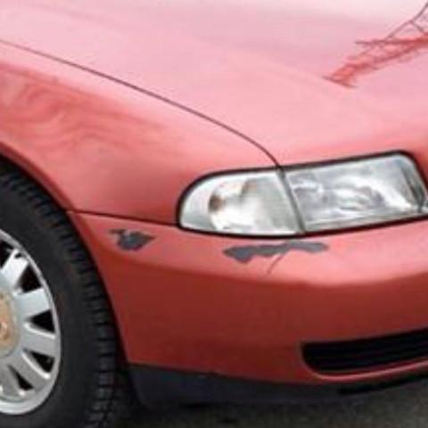 Der Lackschaden - (Auto, KFZ, Lackschaden)