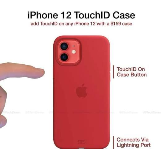 Kann man Touch ID auf das iPhone 12 bekommen über eine Hülle?