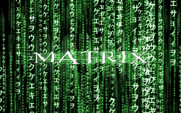 Kann man Wörter in der Matrix-Schrift umwandeln?