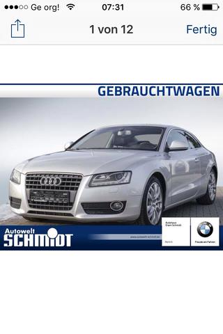 Es handelt sich um einen 2008 Audi A5 2.7 TDI Multitronc  - (Audi, Gebrauchtwagen)