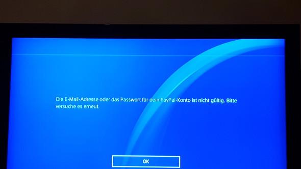 - (PS4, PayPal, Passwort)