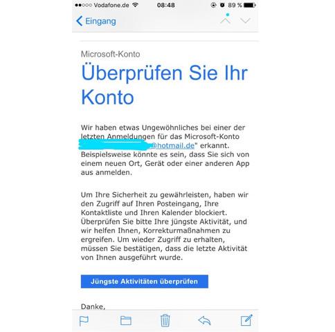Wie kann ich mein email passwort ändern hotmail