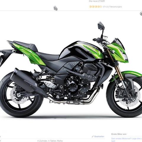 Kawasaki z750r  - (Motorrad, Fun, nackedbike)