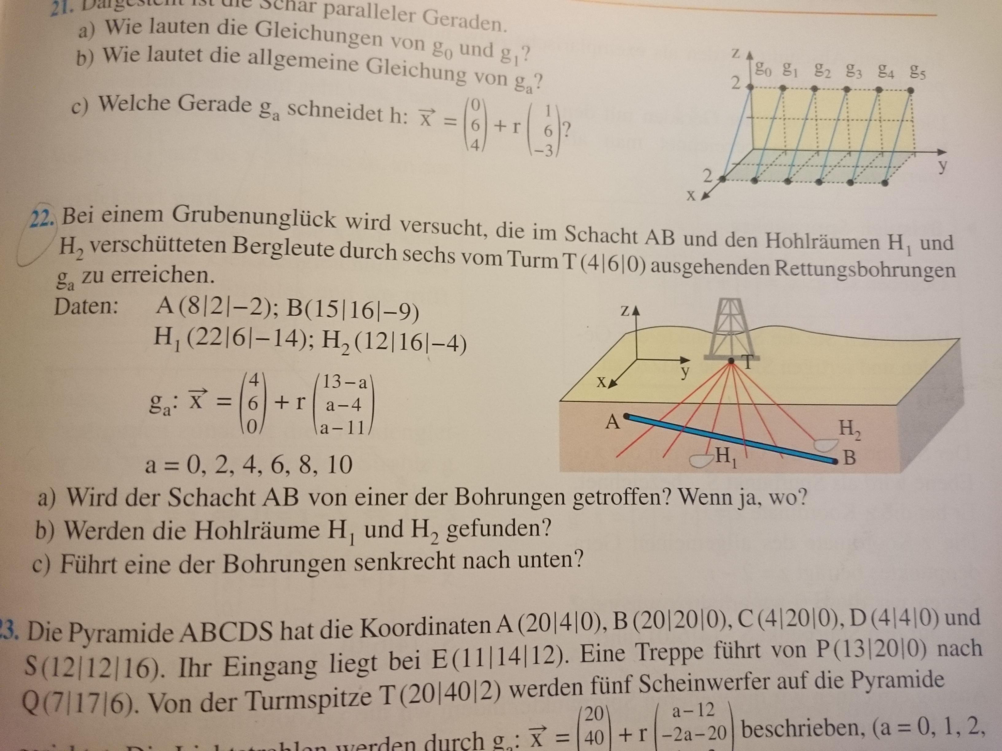 Kann mir bitte jemand beim Lösen der Aufgabe helfen?Mathe klasse 11 ...