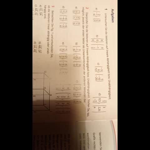 Kann mir bitte jemand die Aufgabe zwei lösen?