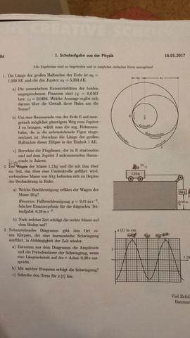 Test Schulaufgabe - (Schule, Physik, Abitur)