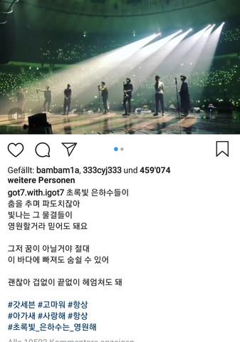 - (übersetzen, koreanisch, Got7)