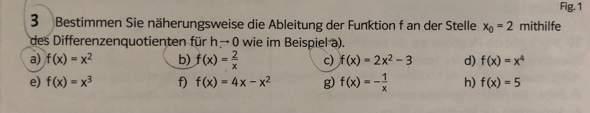 Kann mir das jemand für b) und g) ausrechnen?