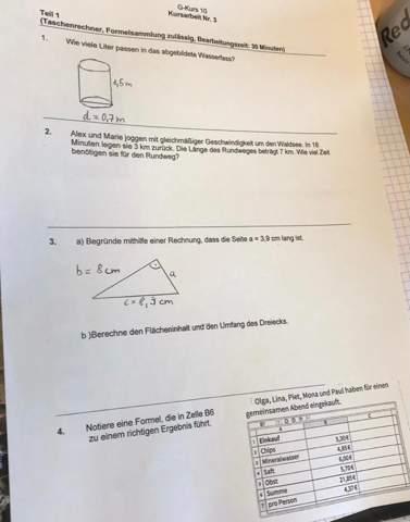 Kann mir das jemand lösen?