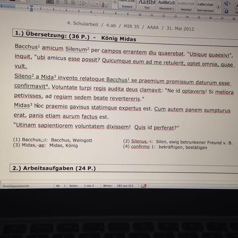 Bester latein übersetzer