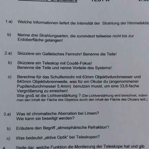 Aufgabe 2c) - (Test, Aufgabe, Astronomie)