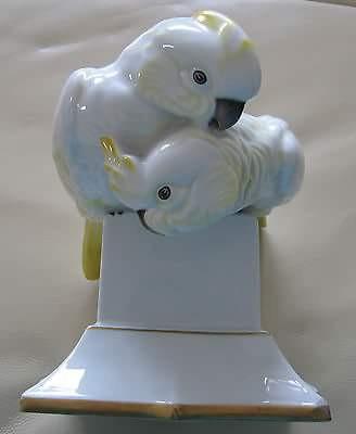 Und so sehen sie aus nur ganz weiß - (Freizeit, Porzellan, Vogel porzellan)