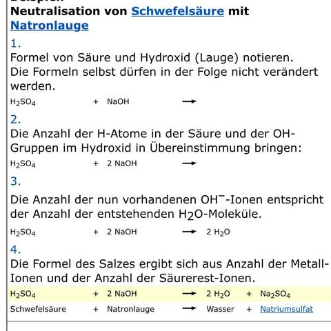 Hier  - (Schule, Chemie, Formel)