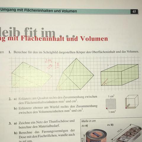 Hilfe bei der Hausaufgabe bitte  - (Schule, Mathe, Hausaufgaben)
