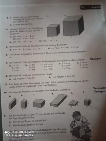 Kann mir jemand bei der Nummer 4 eine gleichung für die erste Nummer geben?