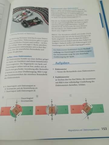 Kann mir jemand bei der Physik Aufgabe helfen (Elektromotor)?