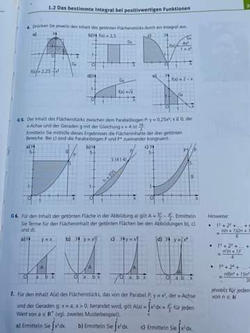 Kann mir jemand bei dieser Integral Aufgabe helfen?