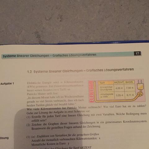 Also aufgabe 1 - (Schule, Buch, Mathe)