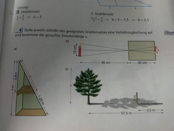 Aufgabe 4 b und c - (Schule, Mathe, Mathematik)