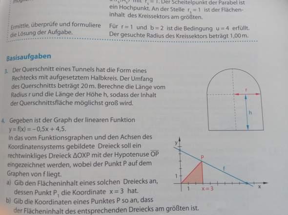 Kann mir jemand bei dieser Matheaufgabe helfen?