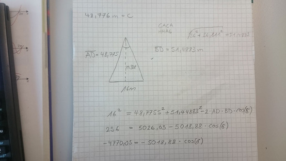 Lösungsweg von a) und b) - (Mathematik, Geometrie, Stereometrie)