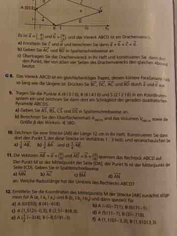 Kann mir jemand bei 12 a,b und c helfen bzw. die aufgabe machen?