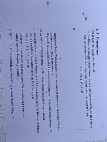 Kann mir jemand bei Mathe helfen?