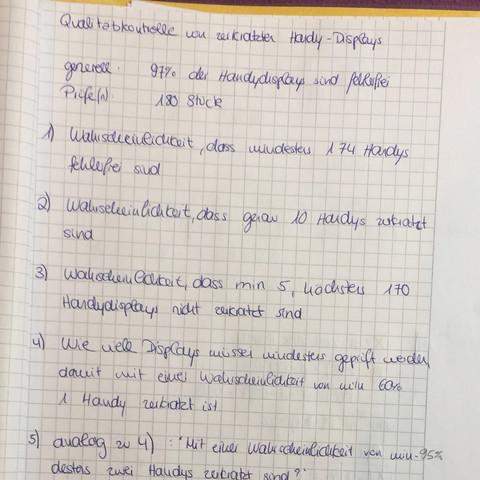 Aufgabe  - (Schule, Mathe, Abitur)