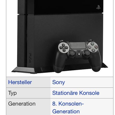 Bild: Playstation 4 von wikipedia.de - (Spiele, Games, Gaming)