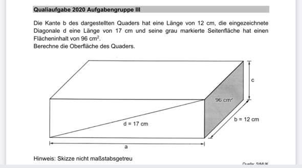 Kann mir jemand bitte bei dieser Matheaufgabe helfen?