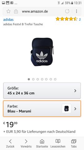 - (online, Amazon, adidas)