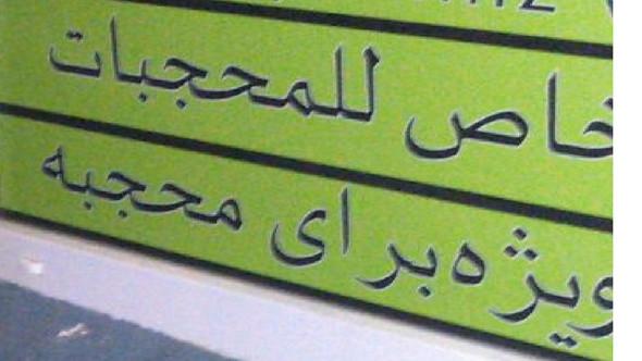 Hier das Bild - (Uebersetzung, arabisch)