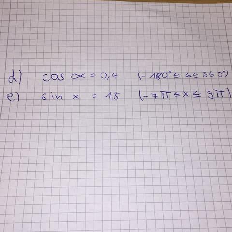 Ich hoffe man kann es lesen.  - (Mathe, Trigonometrie)