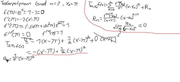 Taylorpolynom ohne Fehlerabschätzung - (Schule, Mathe, Studium)
