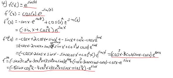 n+1 Ableitungen - (Schule, Mathe, Studium)