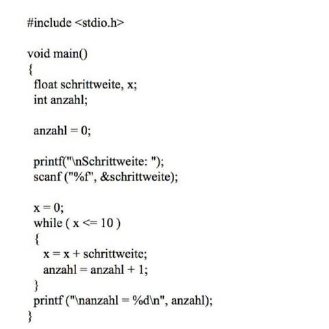 cprogramm - (Informatik, c-sprache, c-programm)