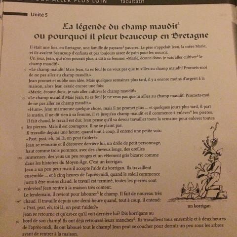 Das ist der französische Text der ins Deutsche übersetzt werden soll:) - (Uebersetzung, Französisch-Text)