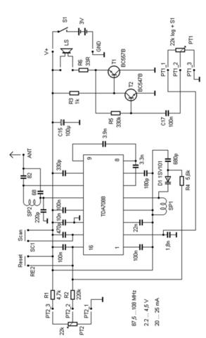 kann mir jemand diesen schaltplan zu einem ukw radio erkl ren elektronik. Black Bedroom Furniture Sets. Home Design Ideas
