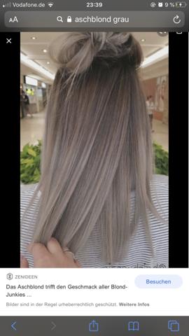 Kann mir jemand eine Haarfarbe empfehlen die der ähnelt auf dem Bild?