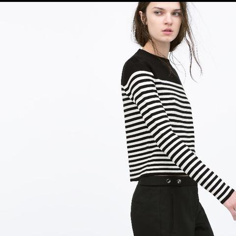 Zara Oberteil - (T-Shirt, zara)